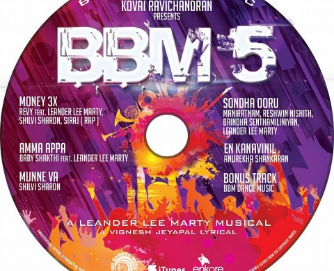 BBM5 – CD & Cover Design